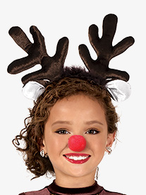 Elisse by Double Platinum - Child Reindeer Headband