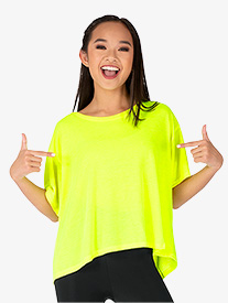 Dance Department - Womens Oversized Short Sleeve Dance Tee