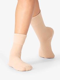 Natalie - Girls Arch Support Dance Socks