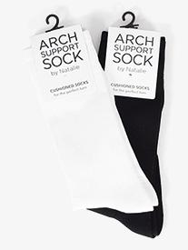 Natalie - Mens Arch Support Dance Socks