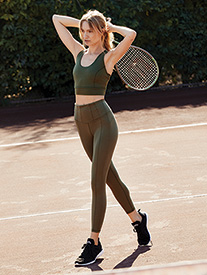 "Free People Movement - Womens ""Enlightened Hybrid"" Workout Leggings"