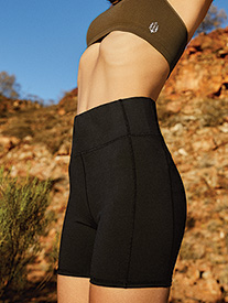 "Free People Movement - Womens ""Hang Time"" Workout Shorts"