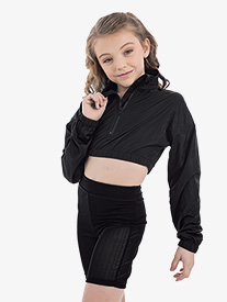 "Oh La La Dancewear - Girls ""Metro"" Mesh Bike Dance Shorts"