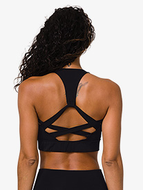 "Onzie - Womens ""Warrior"" Halter Workout Bra Top"