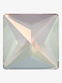 Rhinestones Unlimited - Swarovski Crystal AB Jewel Cut Square Flatback