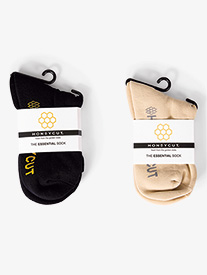 Honeycut - Womens Essential Dance Sock