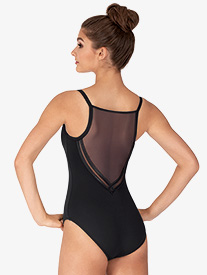 "Bloch - Girls ""Kora"" Mesh Back Camisole Leotard"