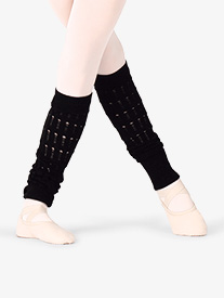 "Bloch - Womens ""Mirari"" Textured Knit Leg Warmers"