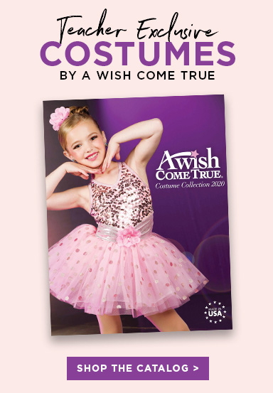 Discount Dance teacher exclusive costumes by A Wish Come True