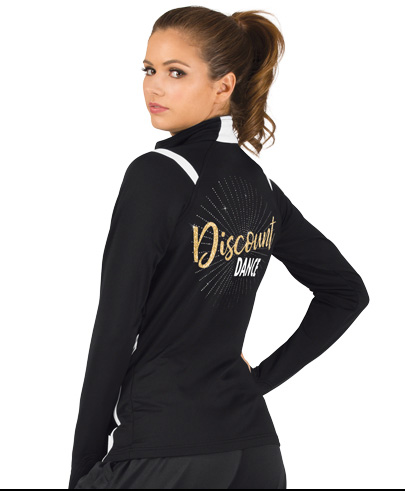 Dancer wearing custom clothing