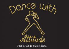 Custom design: Dance with Attitude