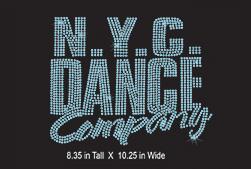 Custom design: N. Y. C Dance Company