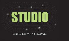 Custom design: Studio design 3