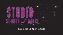 Custom design: Studio Studio School of Dance