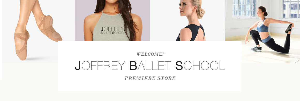 header image for Joffrey Ballet School Premiere Store.