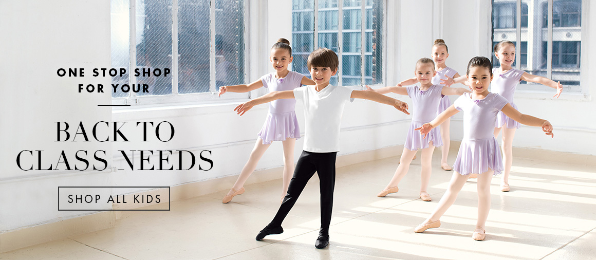 Hero image for the kids dancewear page